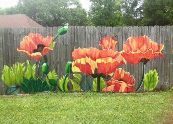 Оригінальні паркани та огорожі для дачі або саду