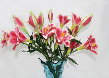 28 весняних композицій з штучних квітів