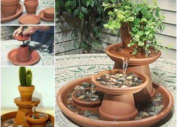 Садові фонтани - 23 ідеї