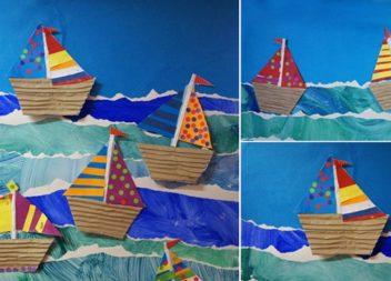 Творимо з дітьми: кольоровий папір - ідеї та майстер-класи