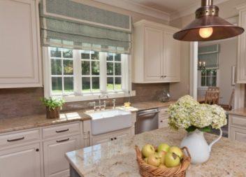 Оригінальні штори та фіранки на кухню