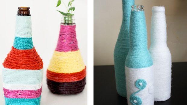 Весняні вазочки з пляшок. Майстер-клас