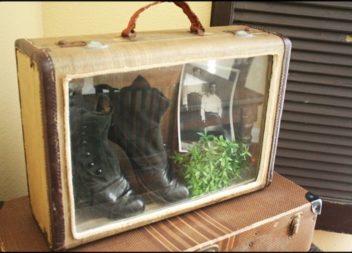 Меблі зі старої валізи. 23 чудові ідеї