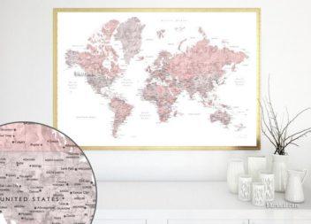 Натхнення кольором: пильний рожевий