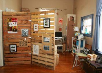Декоративні перегородки для кімнати своїми руками. 20 ідей