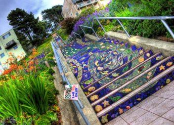 Неймовірні ідеї для сходів на подвір'ї. 10 ідей