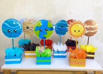 """Дитячий день народження у стилі """"Космос"""": декор та деталі"""