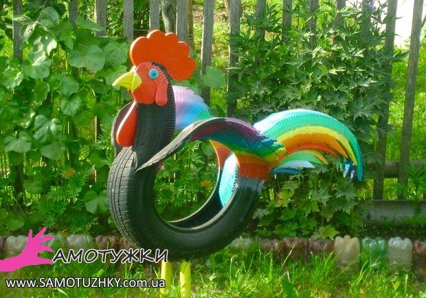 Скамейка из шин для сада и огорода своими руками мастер класс 67