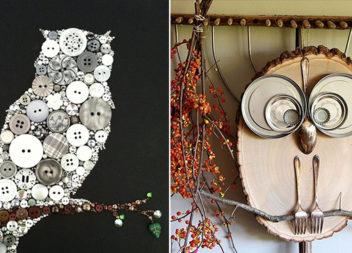 Декор з совами: 16 ідей