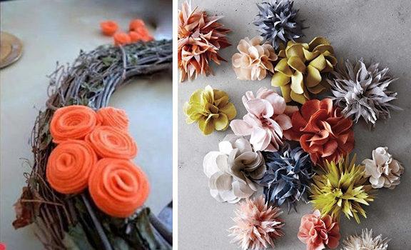 Квіти з тканини: 10 майстер-класів