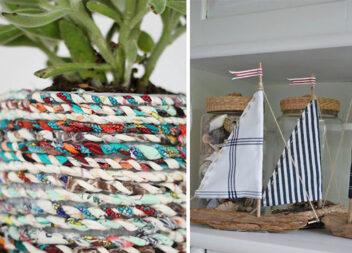 21 спосіб зробити щось корисне з обрізків тканини