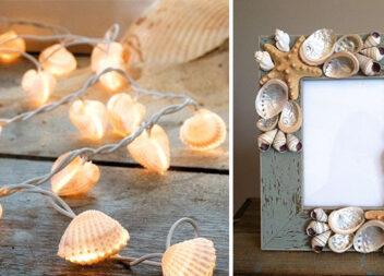 Декор морськими черепашками: 40 ідей