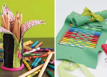 Створюємо дитячий пенал самотужки: 21 креативна ідея