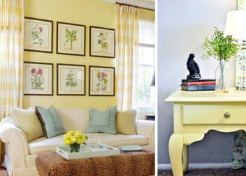 Натхнення кольором: світлий жовтий
