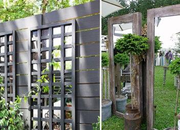 Дзеркало у саду: 20 креативних ідей