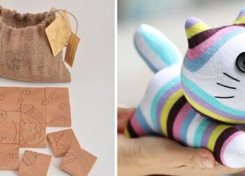 Еко-іграшки: 20 фото-ідей