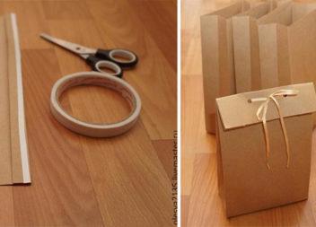 Робимо подарунковий пакет за 5 хвилин: покроковий фото-урок