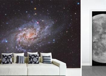 Космічні мотиви в інтер'єрі: 21 ідея