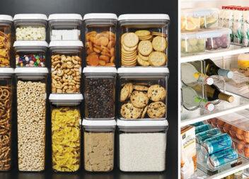 20 ідей для зберігання продуктів