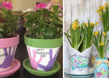 Креативний горщик у подарунок до Дня матері: 15 ідей