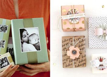 Оформлення подарунку до Дня матері. Ідеї для креативних дітей