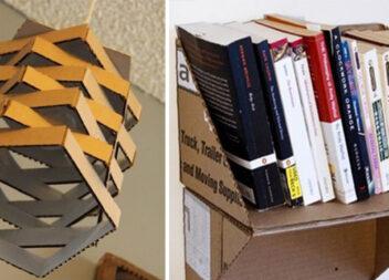 Перетворюємо картонну коробку на корисні речі: 15 ідей