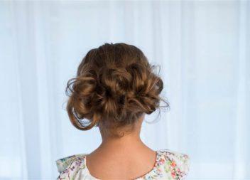 5 простих зачісок для дівчинки: покроково