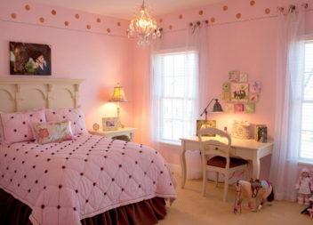 Ніжна кімната для дівчинки: 28 ідей