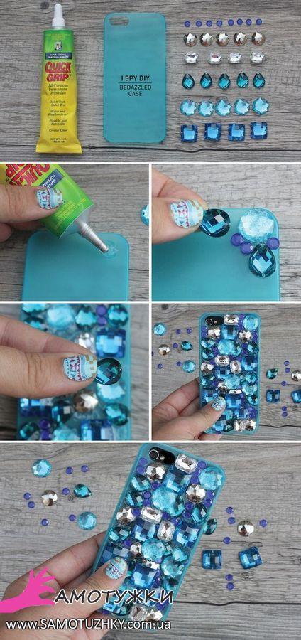 Как можно украсить своими руками свой телефон 26
