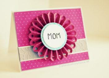 Листівка до Дня матері своїми руками