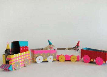 Іграшки з картону своїми руками: 21 ідея