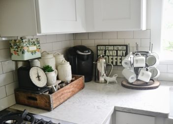 Кавова зона на кухні: 16 ідей