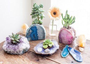 Декор камінням та кристалами: природні мотиви
