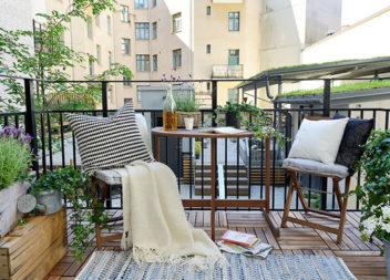 23 ідеї для створення затишного балкону