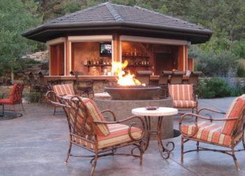 Як організувати вогнище у саду: 16 ідей
