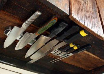 20 естетичних та безпечних способи зберігати ножі на кухні