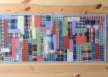 Серветка з обрізків тканини: майстер-клас