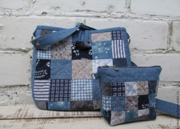 Шиємо сумочку-косметичку у стилі печворк: майстер-клас