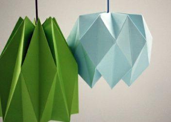 20 ідей для декору у техніці орігамі