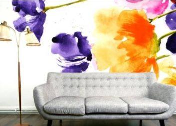 16 способів креативно пофарбувати стіни