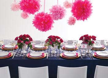 24 ідеї для декору вечірки у рожевих тонах