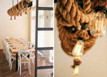 28 ідей для декорування мотузкою