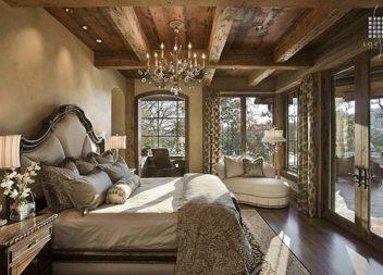 Спальня у стилі рустік: 20 стильних прикладів