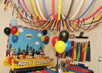 """Дитячий день народження у стилі """"Супергерої"""": декор та деталі"""