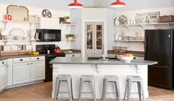 Відкриті шафи та полички: 40 ідей для кухні