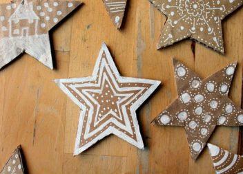 Декор паперовими зірочками: 20 ідей