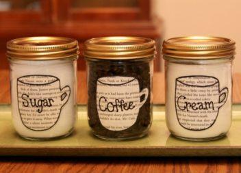 20 ідей для зберігання чаю та кави
