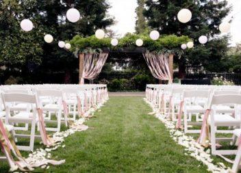 Весілля у саду: 20 ідей для декору