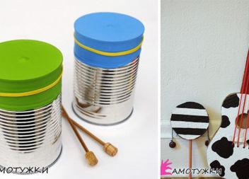 Саморобні музичні інструменти для дітей: 15+ ідей