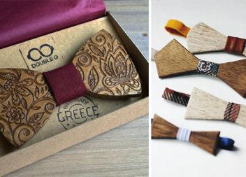 Дерев'яні краватки-метелики: 16 неймовірних ідей